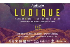 Mariana Lucía, Diego Drexler y Queyi vuelven con Ludique al Auditorio Nacional del Sodre